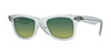 RayBan RB2140 60583M DEMI GLOSS GREEN Specs at Home