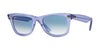 RayBan RB2140 60603F DEMI GLOSS LILAC Specs at Home