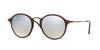 RayBan RB2447N 62569U SHINY TRASPARENT BROWN Specs at Home