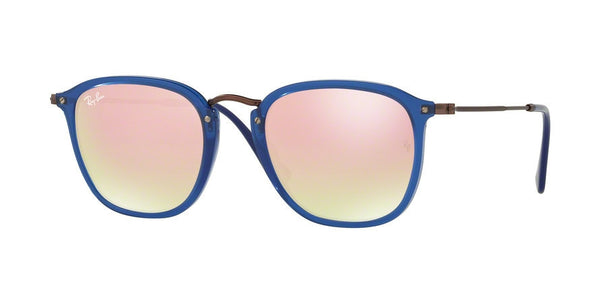 RayBan RB2448N 62547O TRASPARENT BLUE Specs at Home