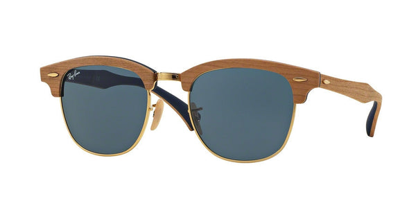 RayBan RB3016M 1180R5 CHERRY RUBBER BLUE Specs at Home