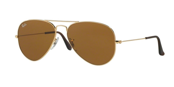 RayBan RB3025 001/33 GOLD Specs at Home