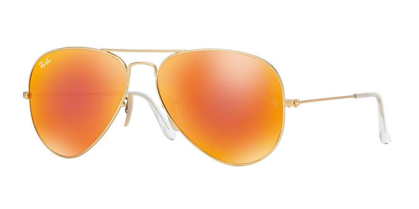 RayBan RB3025 112/69 MATTE GOLD Specs at Home