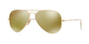 RayBan RB3025 112/93 MATTE GOLD Specs at Home