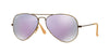 RayBan RB3025 167/1R BRUSHED BRONZE DEMISHINY (Polarized) Specs at Home