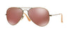 RayBan RB3025 167/2K DEMIGLOS BRUSHED BRONZE Specs at Home