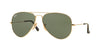 RayBan RB3025 181 GOLD Specs at Home