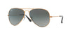 RayBan RB3025 197/71 SHINY BRONZE Specs at Home