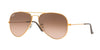 RayBan RB3025 9001A5 SHINY LIGHT BRONZE Specs at Home