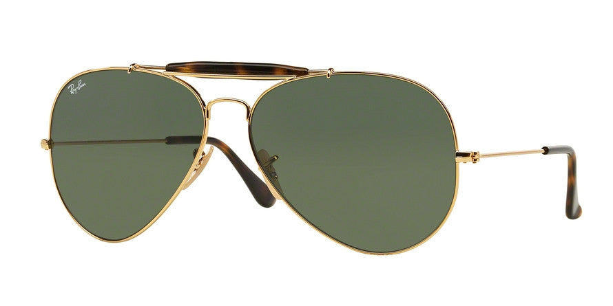 RayBan RB3029 181 GOLD Specs at Home