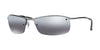 RayBan RB3183 004/82 GUNMETAL (Polarized) Specs at Home