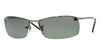 RayBan RB3183 004/9A GUNMETAL (Polarized) Specs at Home