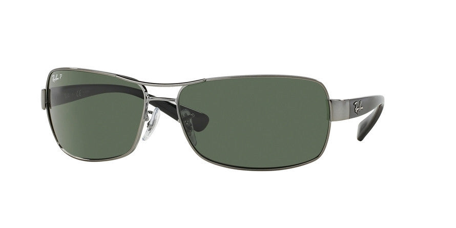 RayBan RB3379 004/58 GUNMETAL (Polarized) Specs at Home