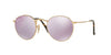 RayBan RB3447N 001/8O SHINY GOLD Specs at Home