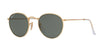RayBan RB3447 112/58 MATTE GOLD (Polarized) Specs at Home