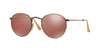 RayBan RB3447 167/2K DEMIGLOS BRUSCHED BRONZE Specs at Home