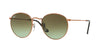 RayBan RB3447 9002A6 SHINY MEDIUM BRONZE Specs at Home