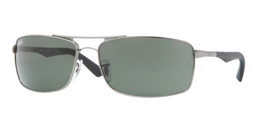 RayBan RB3465 4 GUNMETAL Specs at Home