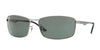 RayBan RB3498 004/71 GUNMETAL Specs at Home
