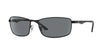RayBan RB3498 006/81 MATTE BLACK (Polarized) Specs at Home
