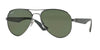 RayBan RB3523 029/9A MATTE GUNMETAL (Polarized) Specs at Home