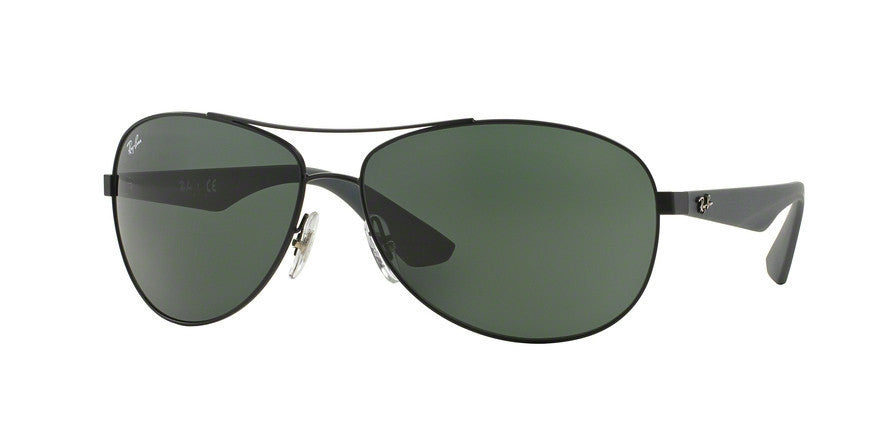 RayBan RB3526 006/71 MATTE BLACK Specs at Home