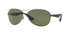 RayBan RB3526 029/9A MATTE GUNMETAL (Polarized) Specs at Home