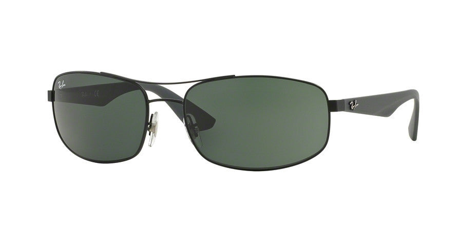 RayBan RB3527 006/71 MATTE BLACK Specs at Home