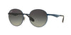 RayBan RB3537 185/11 SHINY BLUE Specs at Home