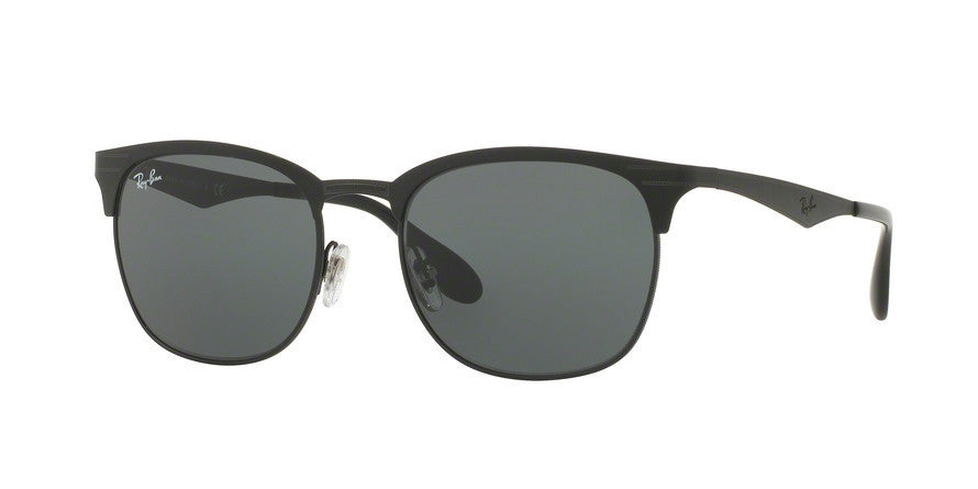 RayBan RB3538 186/71 TOP MATTE BLACK ON SHINY BLK Specs at Home