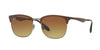 RayBan RB3538 188/13 TOP BROWN ON GUNMETAL Specs at Home
