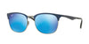 RayBan RB3538 189/55 TOP BLUE ON GUNMETAL Specs at Home