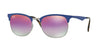 RayBan RB3538 9005A9 GUNMETAL/MATTE BLUE Specs at Home