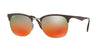 RayBan RB3538 9006A8 GUNMETAL/MATTE BROWN Specs at Home