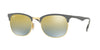 RayBan RB3538 9007A7 GOLD/MATTE GREY Specs at Home