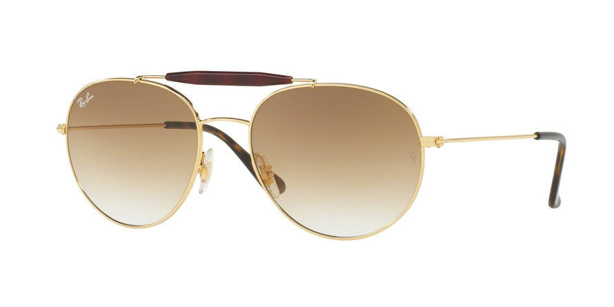 RayBan RB3540 001/51 GOLD Specs at Home