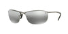 RayBan RB3542 029/5J MATTE GUNMETAL (Polarized) Specs at Home