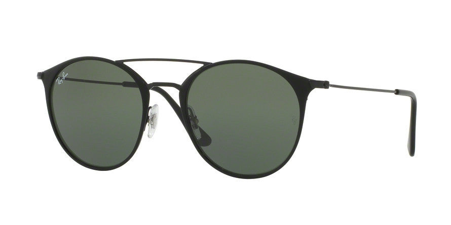 RayBan RB3546 186 BLACK TOP MATTE BLACK Specs at Home