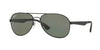 RayBan RB3549 006/9A MATTE BLACK (Polarized) Specs at Home