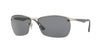 RayBan RB3550 019/81 MATTE SILVER (Polarized) Specs at Home