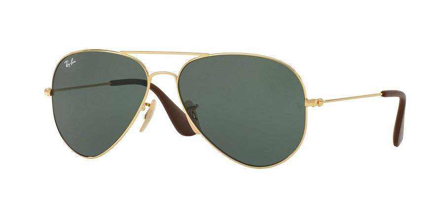 RayBan RB3558 001/71 GOLD Specs at Home