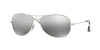 RayBan RB3562 003/5J SHINY SILVER (Polarized) Specs at Home
