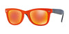 RayBan RB4105 601969 MATTE ORANGE Specs at Home