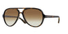 RayBan RB4125 710/51 LIGHT HAVANA Specs at Home