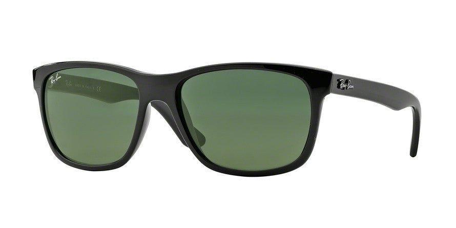 RayBan RB4181 601 SHINY BLACK Specs at Home
