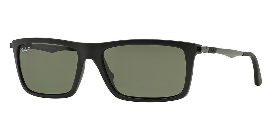 RayBan RB4214 601S9A MATTE BLACK (Polarized) Specs at Home