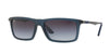 RayBan RB4214 62978G MATTE TRANSPARENT BLUE Specs at Home