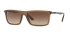 RayBan RB4214 629813 MATTE TRANSPARENT BROWN Specs at Home
