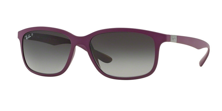 RayBan RB4215 6128T3 DARK VIOLET (Polarized) Specs at Home