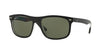 RayBan RB4226 60529A TOP MATTE BLACK ON TRANSPARENT (Polarized) Specs at Home
